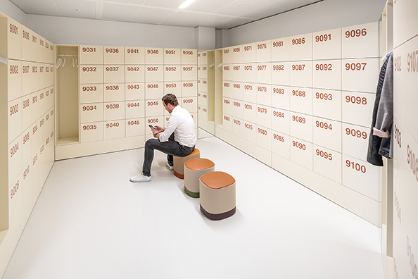 smart wardrobe lockers