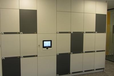 agile, hotdesk lockers