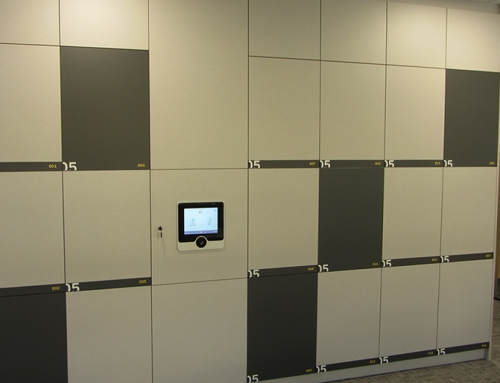 Activity-based office lockers