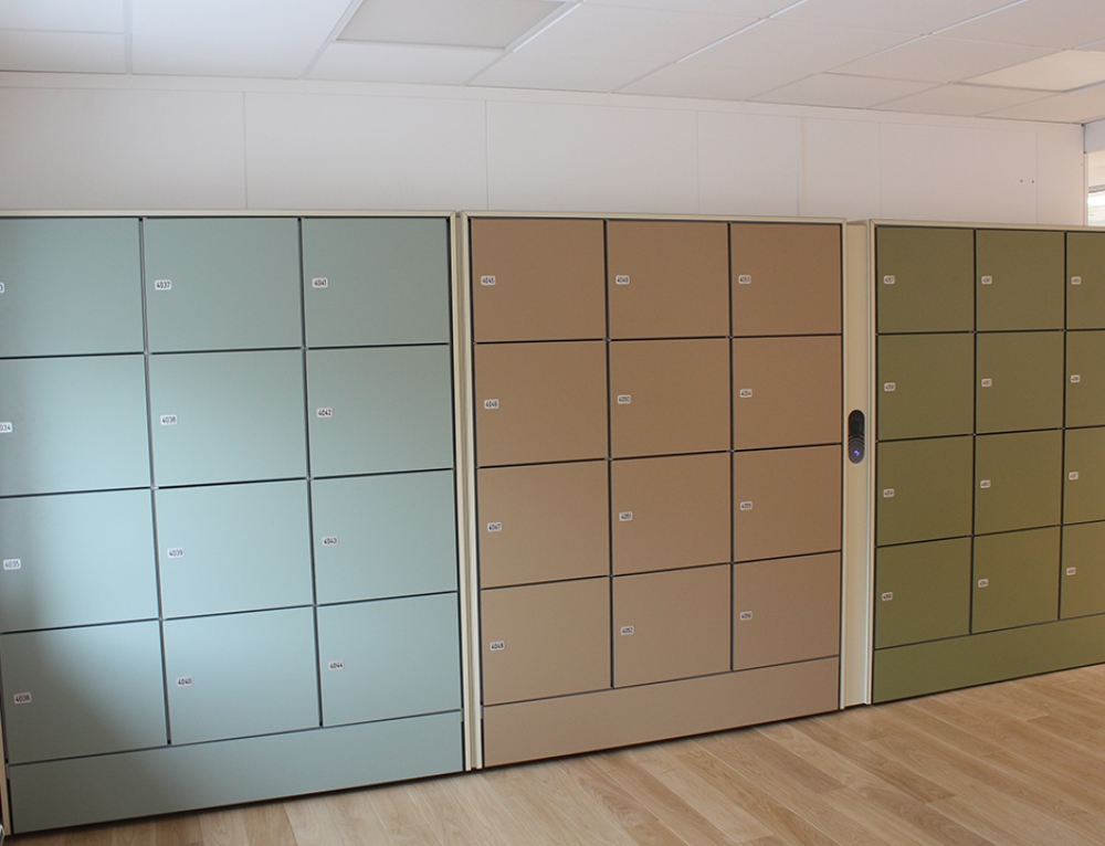 Wageningen Workplace Lockers