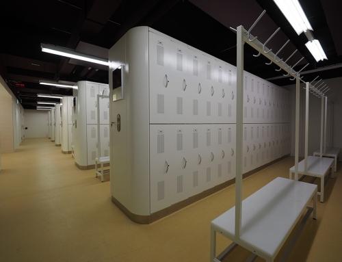 Hospital staff lockers (Triemli)